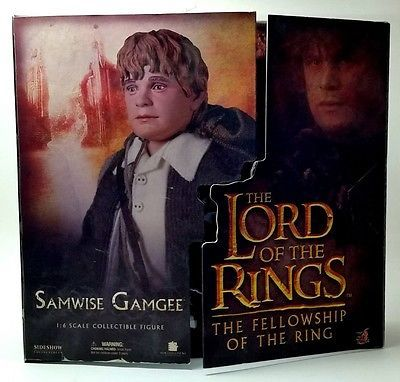 "LORD OF THE RINGS 12"" Figure by Sideshow Collectibles 1:6 Scale Samwise Gamgee"