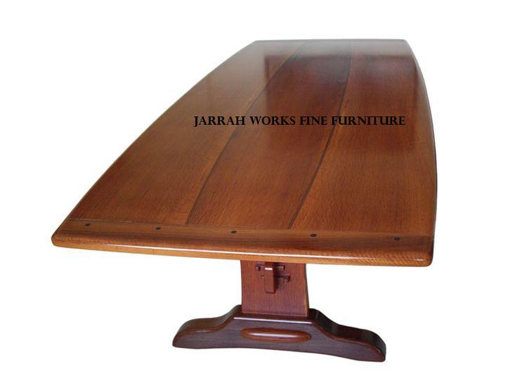She-oak and Jarrah dining table