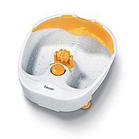 Beurer FB 14 er et klassisk fotbad med 3 funksjoner, inkludert vibrerende massasje, boblende massasje og temperert vann.