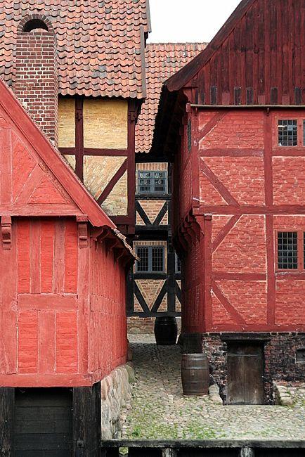 (via Old town of Aarhus, a photo from Aarhus, West, Denmark