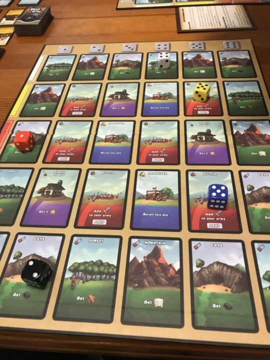 Gameday First Play – Dice City   JestaThaRogue