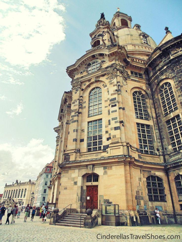 Frauenkirche, the beautiful church in Dresden