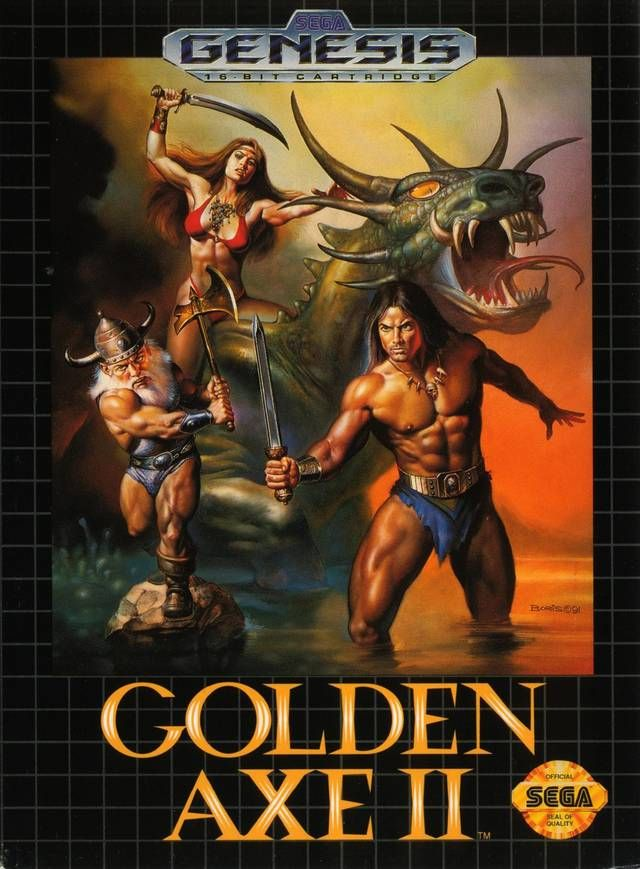 Golden Axe 2 for the Sega Genesis, My 2nd favorite game on this system. Beat all the boys.