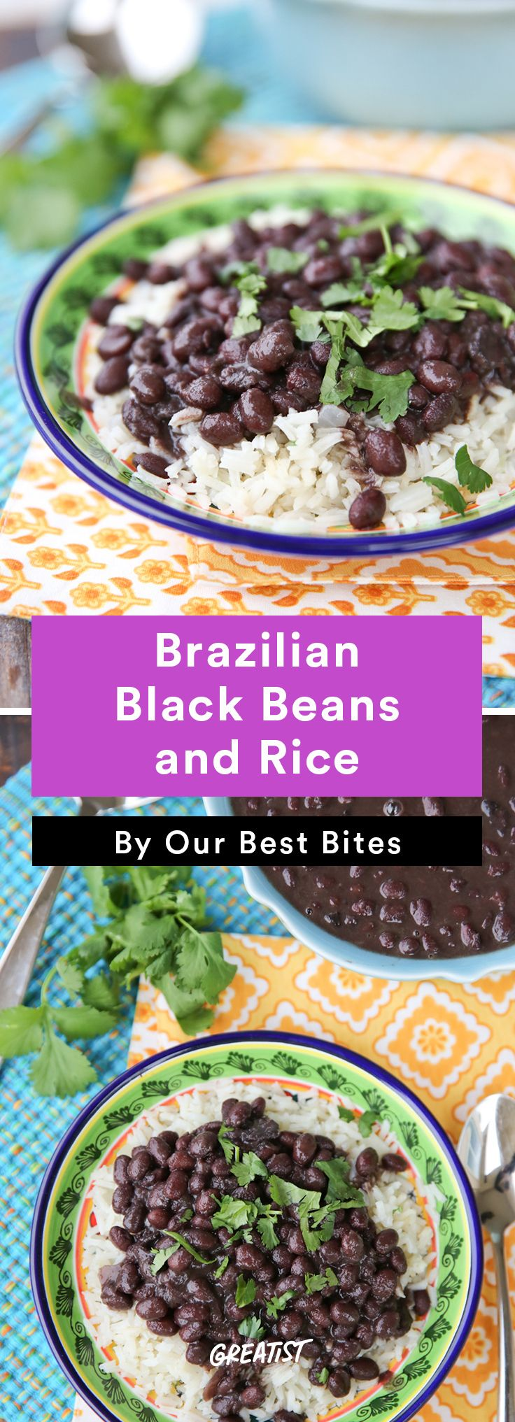 7. Brazilian Black Beans and Rice #healthy #Brazilian #recipes http://greatist.com/eat/brazilian-recipes-that-are-surefire-winners