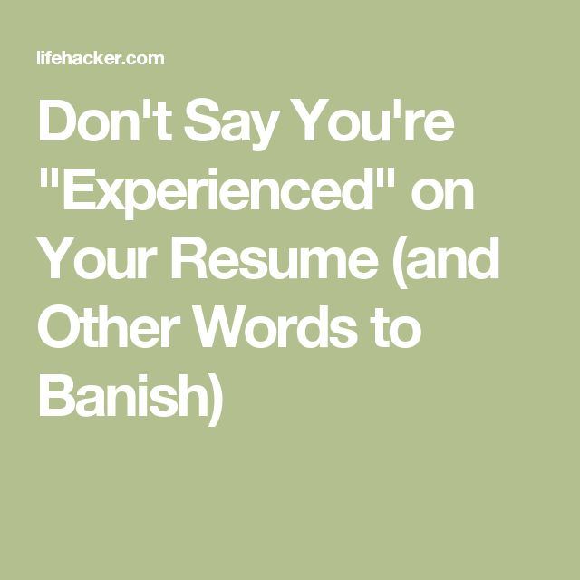 57 best Career images on Pinterest Tips, Writing prompts and - other words for resume