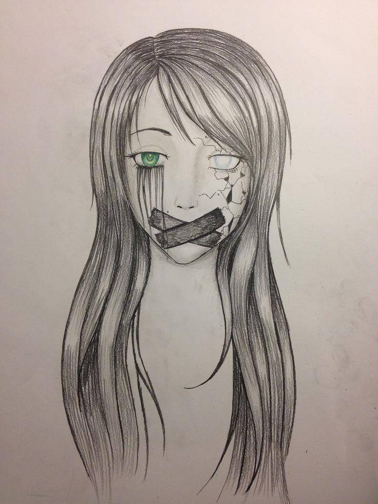 Картинки для срисовки грусть для срисовки