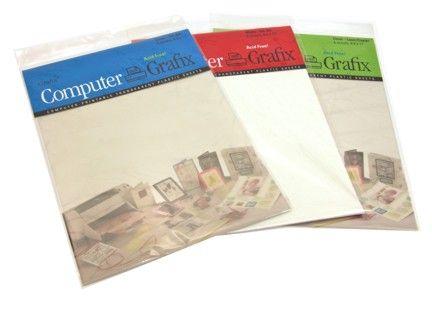 Grafix Shrink Film Clear Paper Crafting Paper