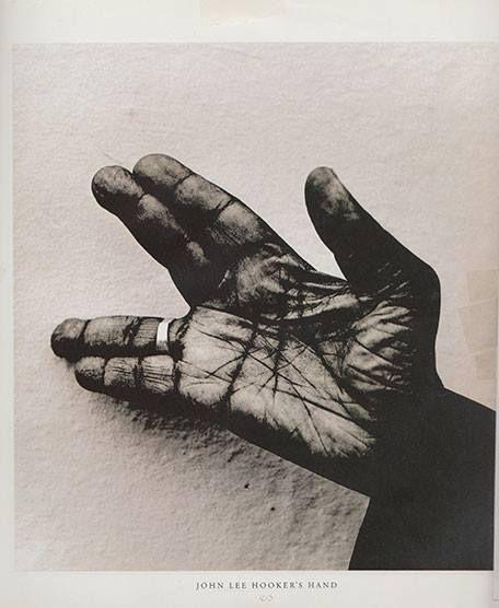 John Lee Hooker's hand