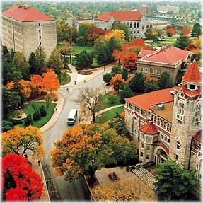 Home away from home. I love this campus. Rock Chalk!