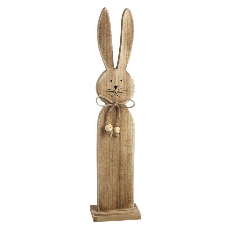 Large Wooden Rabbit
