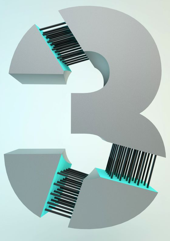WIRED | Type treatment by Mauro De Donatis, via Behance