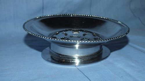 Buy Vintage Silver plated Butter Serving Dish with removable basefor R150.00