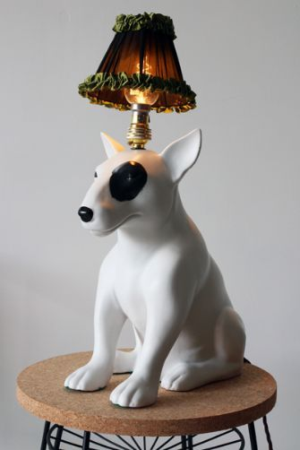 mungo bull terrier dog table lamp by abigail ahern shop in fusion home nl