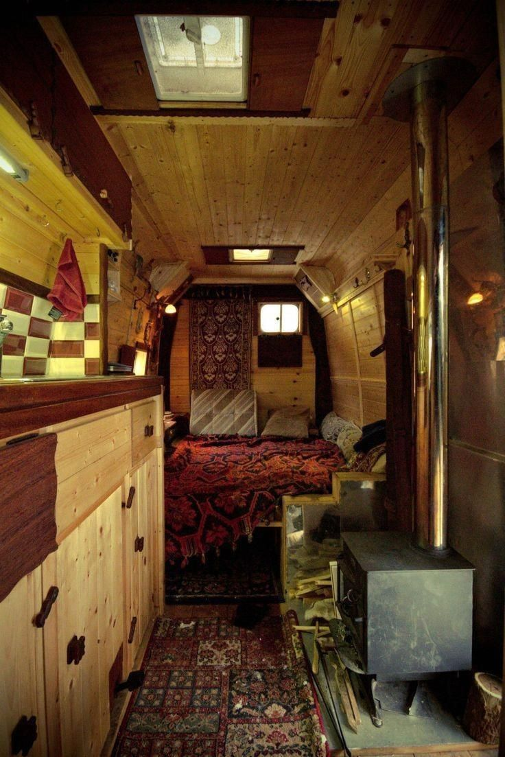Wood decks for campers