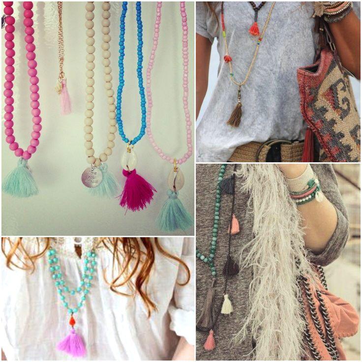 Boho tassel necklace #ohsohip