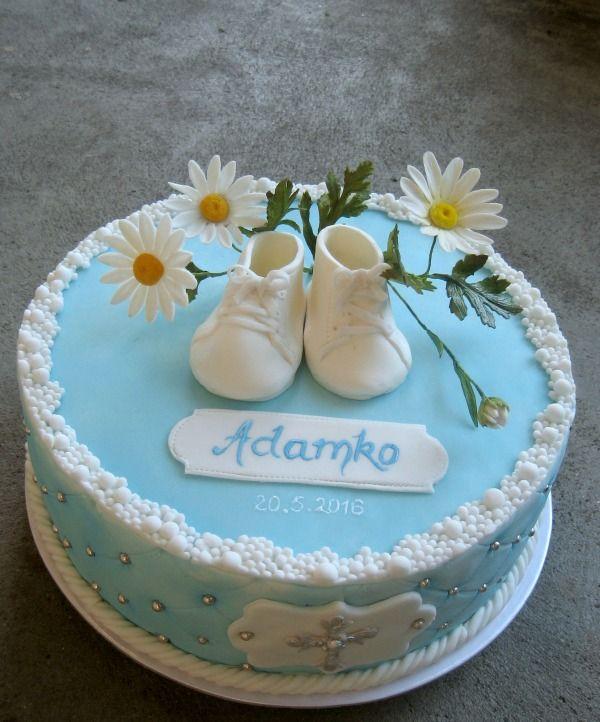 Krstinová torta Christening cake