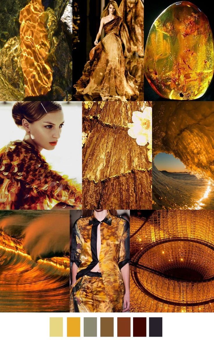 S/S 2017 pattern & colors trends: AMBER WAVES