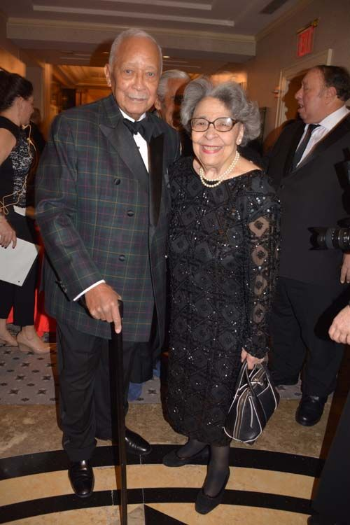 Former Mayor David Dinkins and his lovely wife Joyce Dinkins.  Photo by: Rose Billings/Blacktiemagazine.com Rose Billings/Blacktiemagazine.com http://blacktiemagazine.com/society_february_2017/Panda_Ball.htm