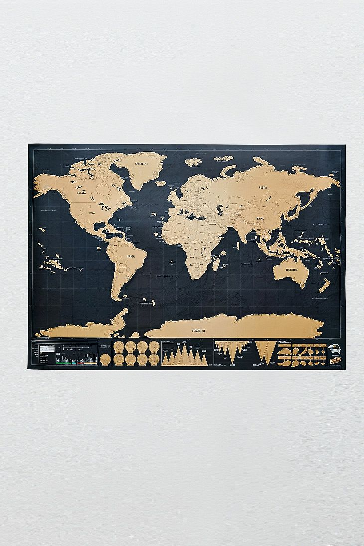 Deluxe Scratch Map #UO 35€