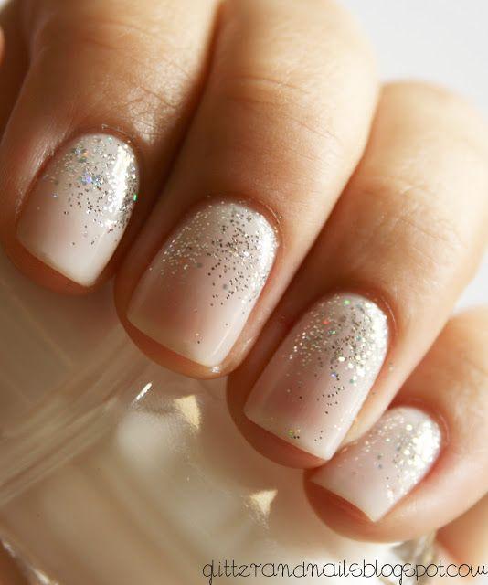 Glitter and Nails: Essie Waltz + Kiko 271 ou mon premier dégradé de paillettes