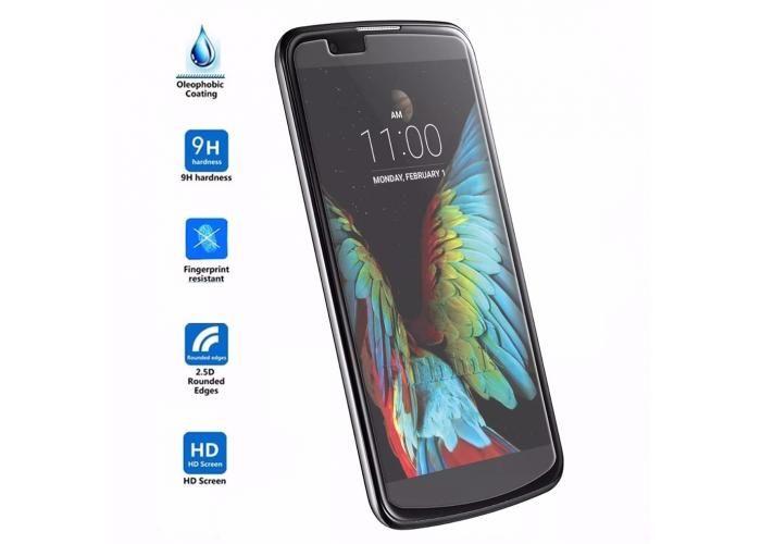 Guili Guili Fundas y Accesorios Para Smartphone: Mica Cristal Templado Lg K10 Gorilla Glass 9H - Kichink!