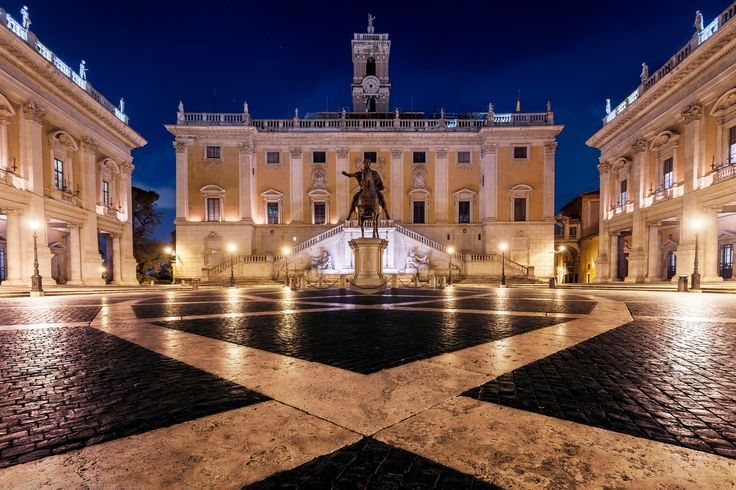 Photograph Comune Di Roma, Piazza del Campidoglio, Rome, Italy by Joe Daniel Price on 500px