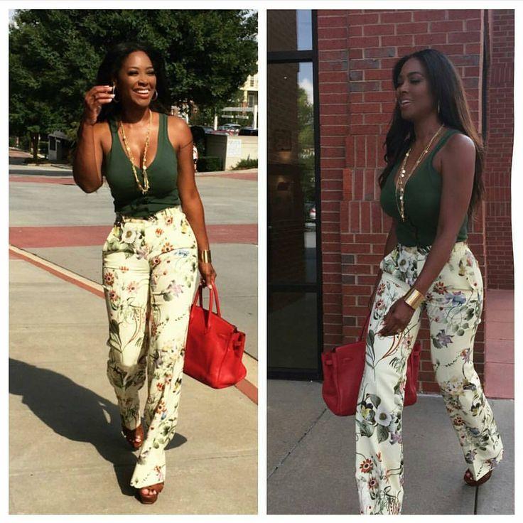 ❤ Kenya Moore's Outfit