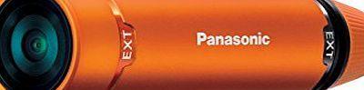 Panasonic HX-A1ME-D Ultracompact, Lightweight and Tough Wearable Full HD Camcorder - includes both the Multi M Panasonic HX-A1ME - Action-Kamera - montierbar - High Definition - 3.54 Mpix - Flash-Karte - Wi-Fi - Unterwasser bis zu 1,5 m - orange (Barcode EAN = 5025232824069). http://www.comparestoreprices.co.uk/december-2016-week-1/panasonic-hx-a1me-d-ultracompact-lightweight-and-tough-wearable-full-hd-camcorder--includes-both-the-multi-m.asp