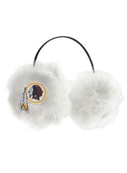 Keep your ears warm and show off your Redskins spirit with these Washington #Redskins Women's Earmuffs.