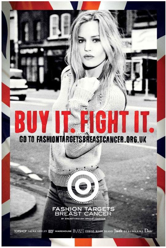 Fashion Targets Breast Cancer - Georgia Jagger #FTBC2012