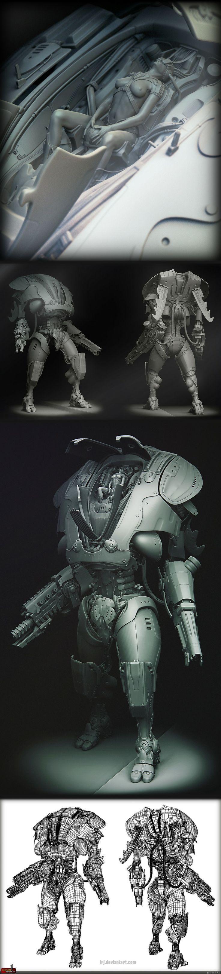 Freakin' amazing 3d modeling