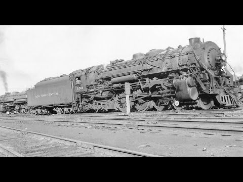 New York Central Railroad Steam Locomotive On YouTube