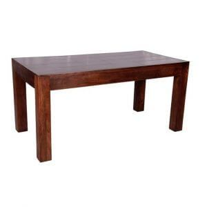 Indian sheesham wood coffee table from Scape Interiors West
