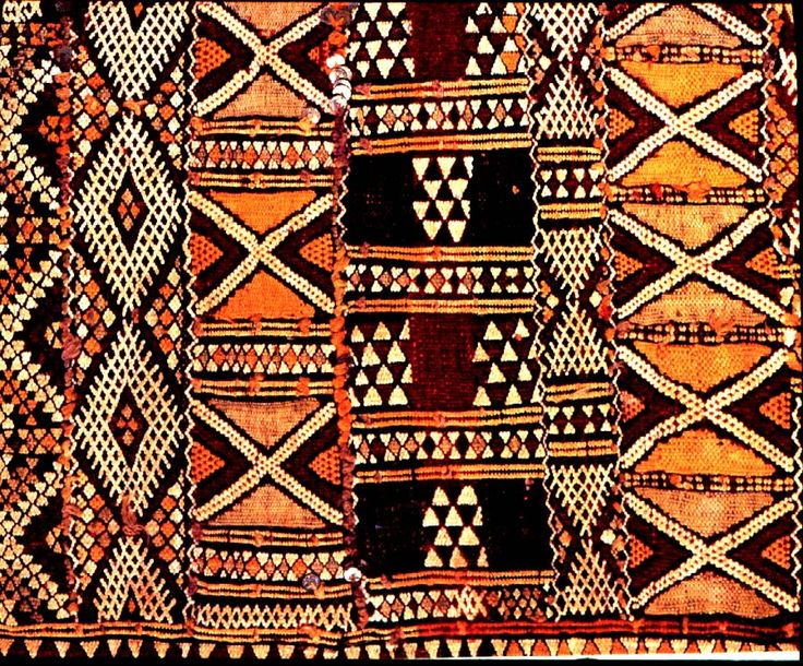african art | Woven from sheep wool. Made on horizontal looms by women. Motifs are ...