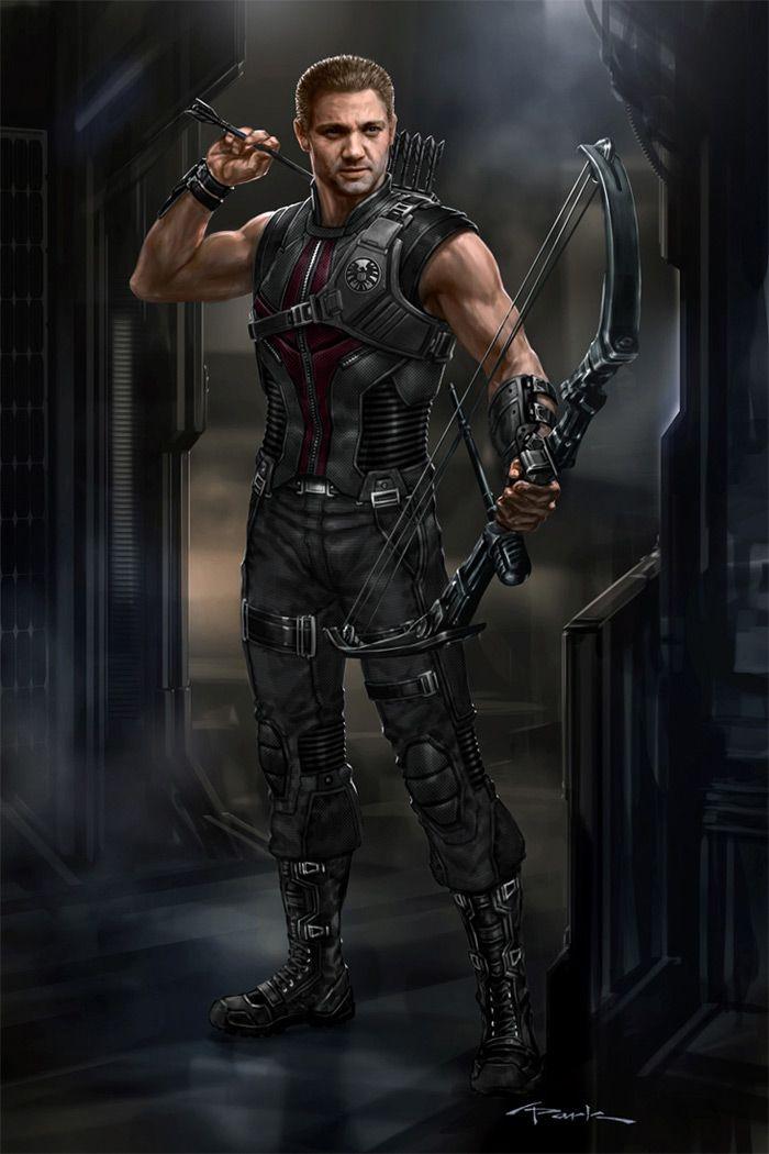 The Avengers- Hawkeye 02 by andyparkart.deviantart.com on @deviantART