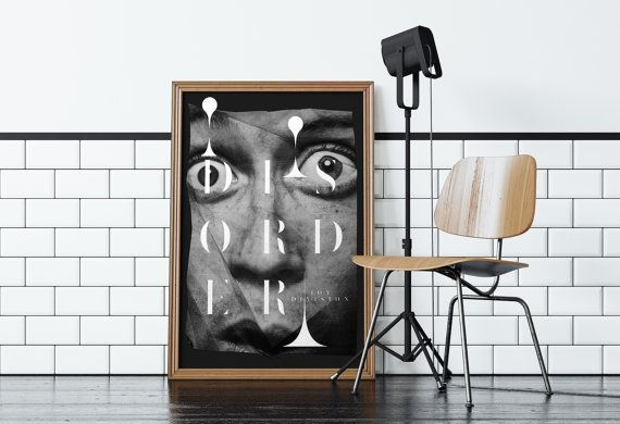 Joy Division / screenprint poster