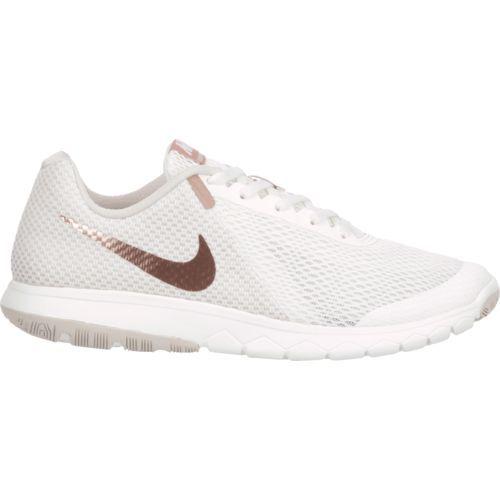 4ce0265366f Nike Women s Flex Experience RN 6 Running Shoes (White Medium Red ...