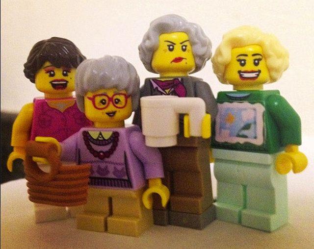 Golden Girls Lego minifigure sets!!!!!!