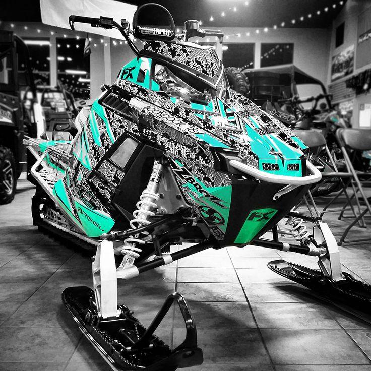 Polaris Pro RMK Boondockers 12 Movie ArcticFX Sled Wrap