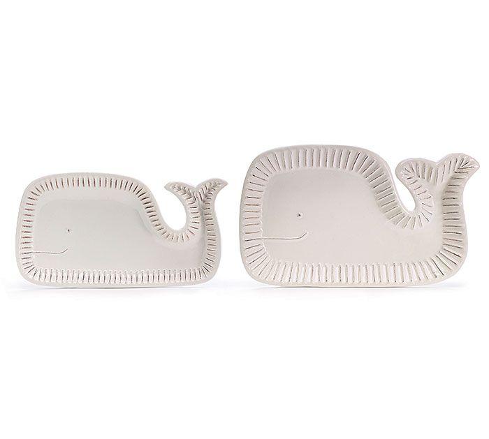 Make a SPLASH! with our Whale Platters | #burtonandburton