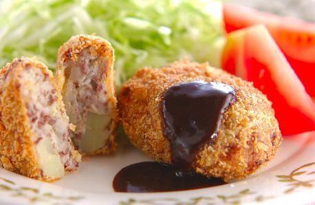 japanese cuisine recipes | Potato Croquette | Japanese cuisine, Japanese food recipes.