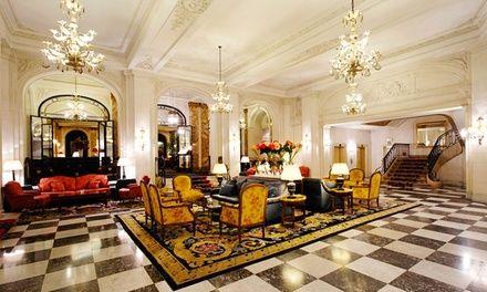Le Plaza Hotel à Bruxelles : Escapade 5* à Bruxelles: #BRUXELLES 84.00€ au lieu de 139.50€ (40% de réduction)