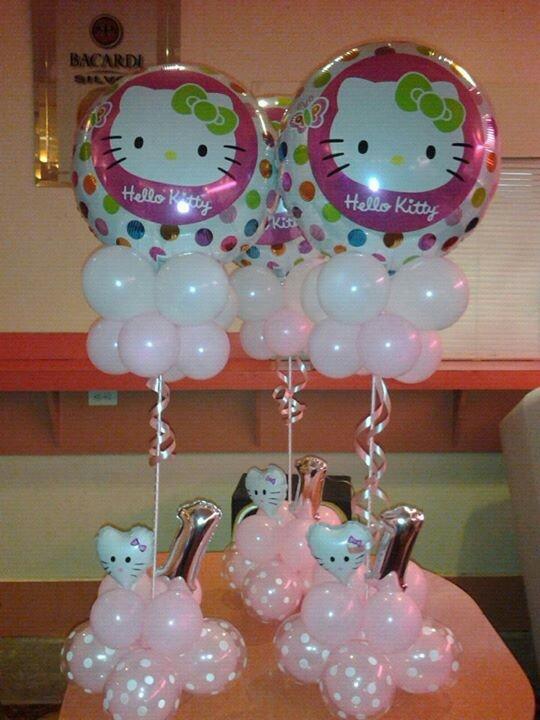 Hello Kitty Centerpiece Diy Amp Crafts That I Love