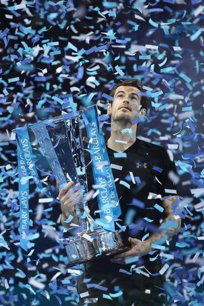 Andy Murray World Number 1 2016.