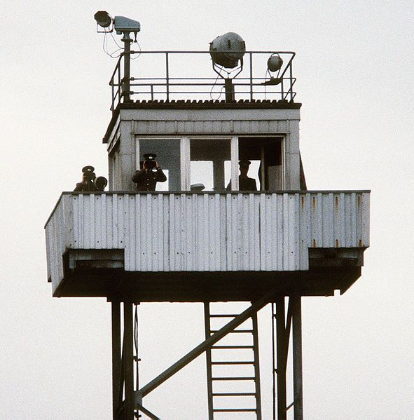File:DDR steel watch tower cropped.jpg