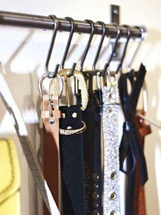 organizing belts - Google Search