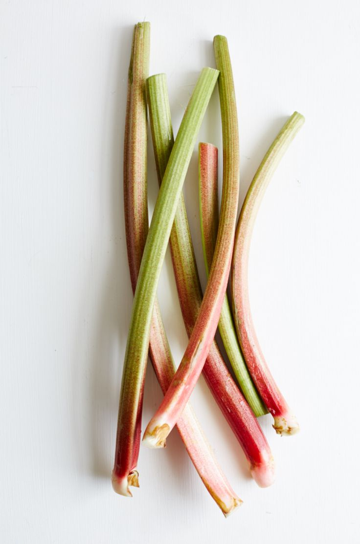 This month's ingredient is rhubarb!