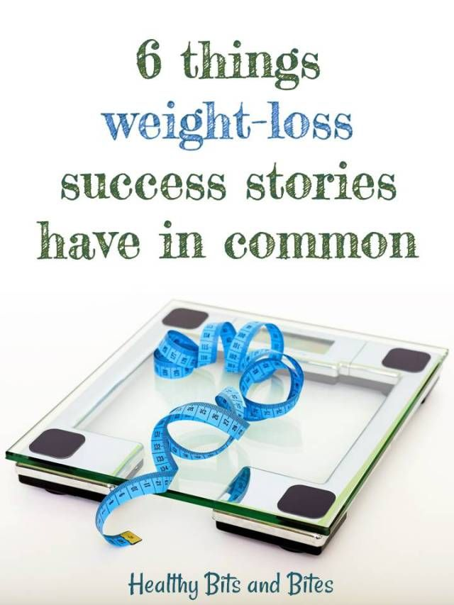 6 things weight-loss success stories have in common | Healthy Bits and Bites
