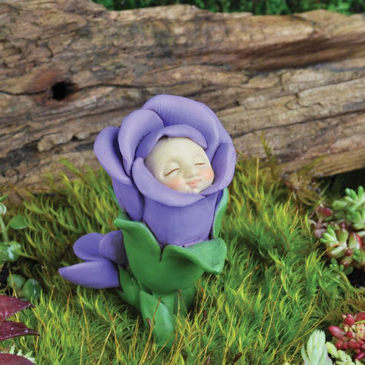 A cute little Flower Bud Baby, one for every month.