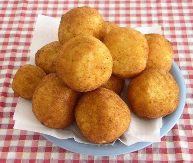 Arancini Rice Balls | Yummy Funny - Recipes | Pinterest